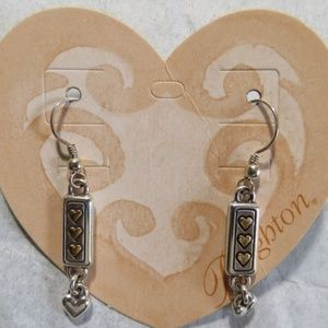 Brighton ourheart french wire earrings